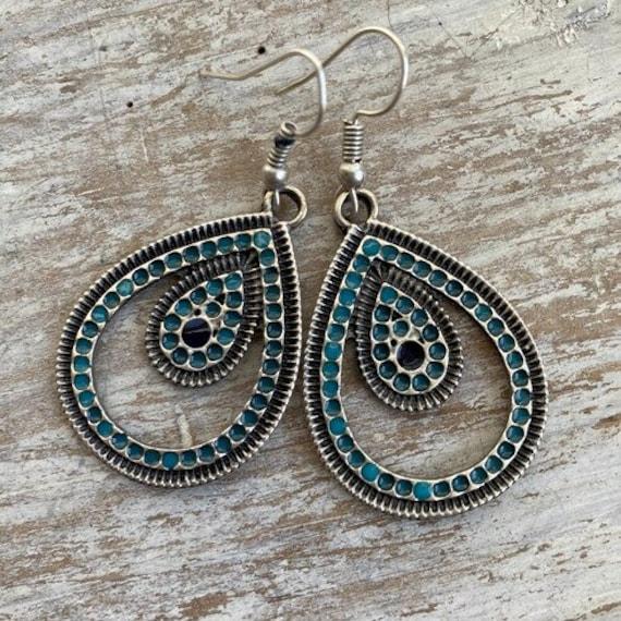 5530 - Bohemian Earrings,Bohemian Jewelry, Earring Svg,