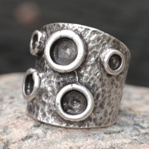 4434 - Boho Ring, Bohemian Ring , Ethnic, Tribal, hippie Style