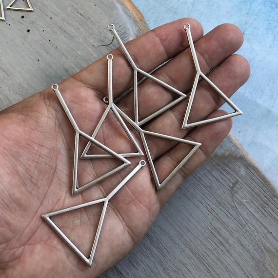 8115 - Novo Inka Earring Findings 6 Pcs.  Big Size