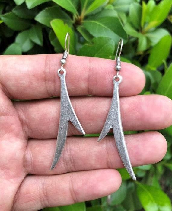 5635 - Bohemian Earrings,Bohemian Jewelry, Tassel Earrings,