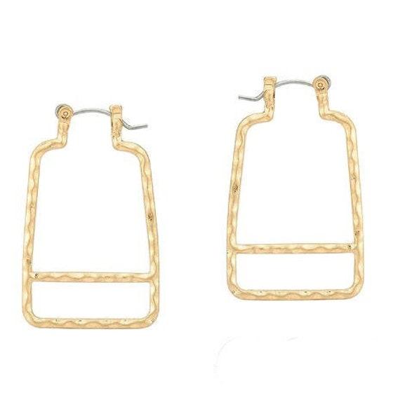 5544 - Geometric Earrings, Dangle Earrings,Best Friends Gift