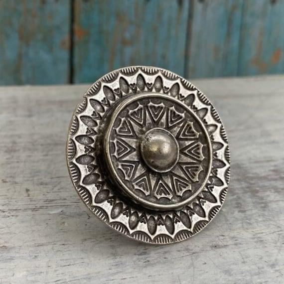 4358 - Boho Ring, Bohemian Ring , Ethnic, Tribal, Hippie Style