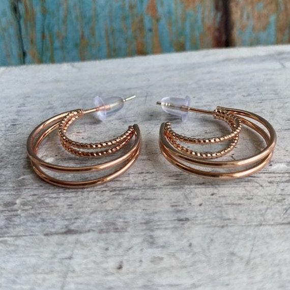 S056 - Minimalist Earrings,Bohemian Jewelry,Gold Earrings