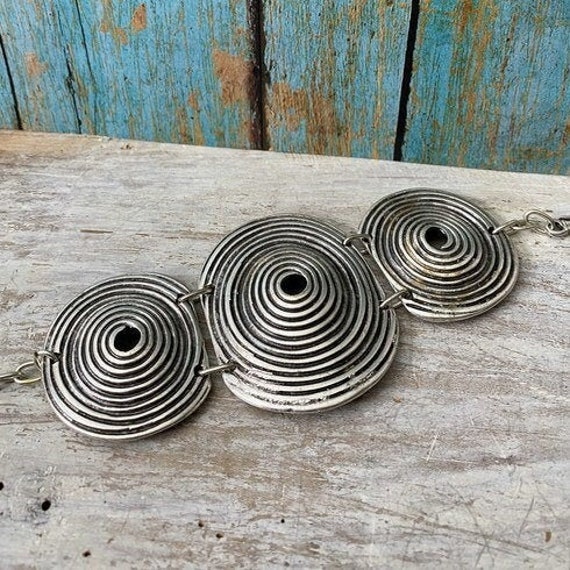 2041 - Antique Silver Plated  Bohemian Bracelet Findings. Bohemian Bracelets for women