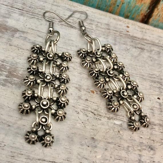 Bohemian Earrings,Bohemian Jewelry, Minimalist Earrings - 5333