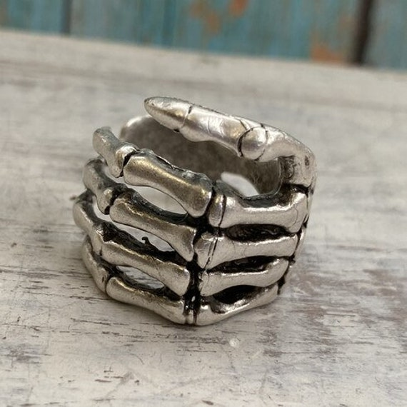 4384 -boho Ring, Bohemian Ring , Ethnic, Tribal, Hippie Style