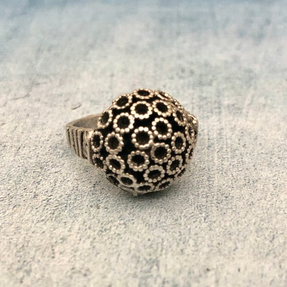 4451 - Bohemian rings, adjustable ring, brass ring