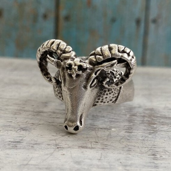 4456 - Boho Ring, Bohemian Ring , Ethnic, Tribal, Hippie Style