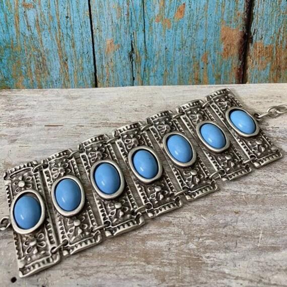 Antique Silver Plated  Bohemian Bracelet Findings. Bohemian Bracelets for women - 2024