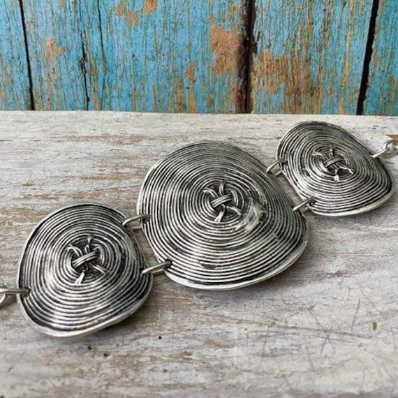 2009 - Antique Silver Plated  Bohemian Bracelet Findings. Bohemian Bracelets for women