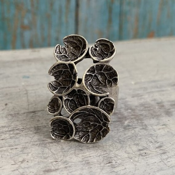 4367 - Boho Ring, Bohemian Ring , Ethnic, Tribal, Hippie Style