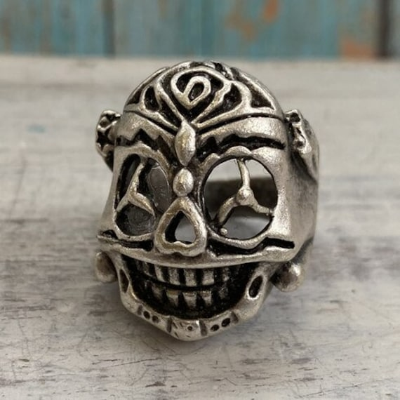4353 -boho Ring, Bohemian Ring , Ethnic, Tribal, Hippie Style