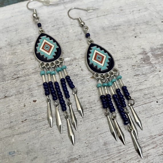 5419 -Dangle Earrings, stud earrings, boho earrings