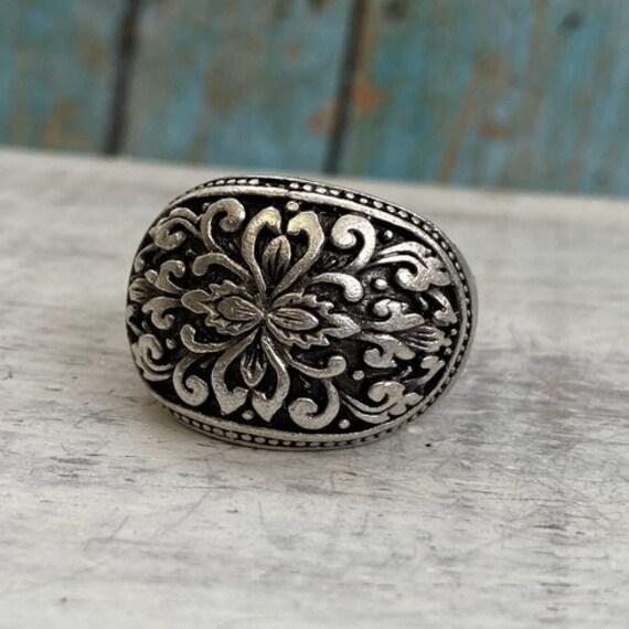 4024 - Bohemian,boho Ring, Ethnic Tribal,  Gypsy Hippie Rings