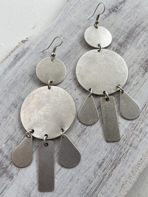 5581 - Geometric Earrings, Dangle Earrings,Best Friends Gift,