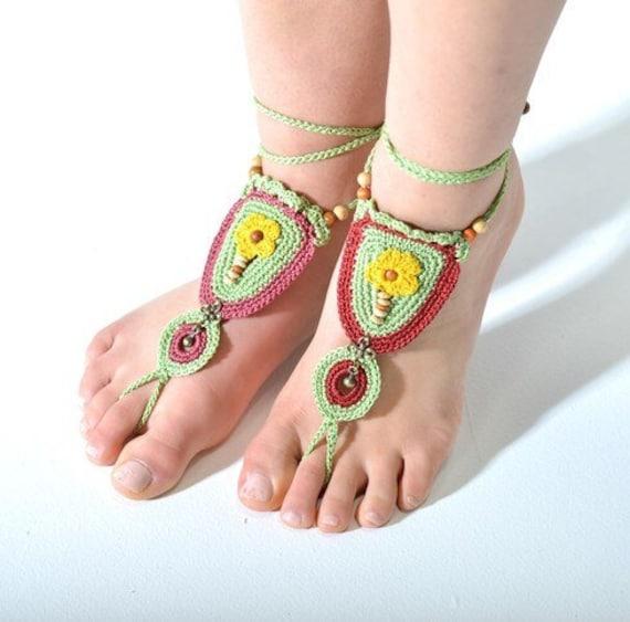 Dawn Hand Crocheted Barefoot  - 6015
