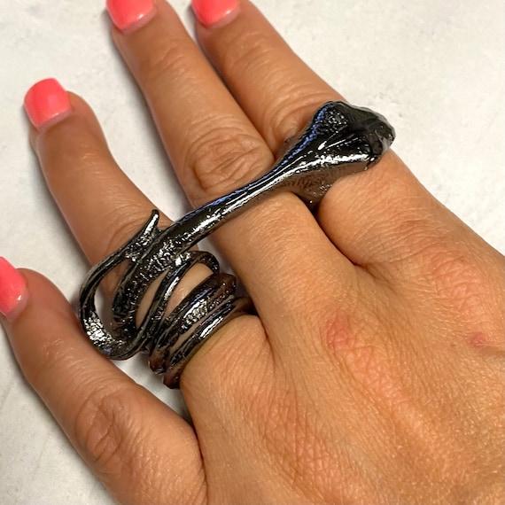 4354 -Bohemian rings, adjustable ring, brass ring