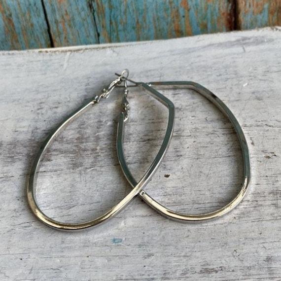 S075 - Geometric Earrings, Bohemian Jewelry,Hoop Earrings