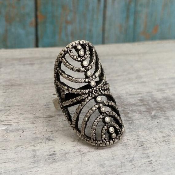 4332 -bohemian,boho Ring, Ethnic Tribal,  Gypsy Hippie Rings