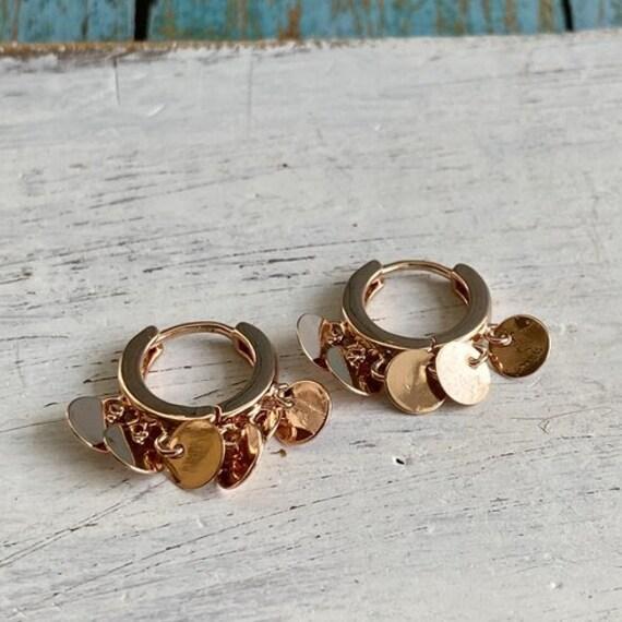 S052 - Minimalist Earrings,Bohemian Jewelry,Gold Earrings