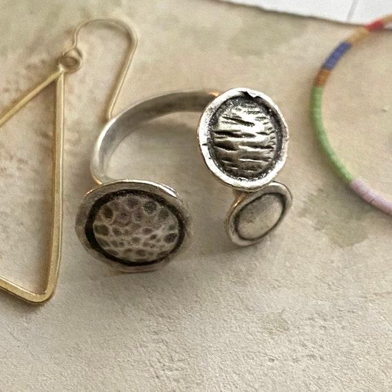 4460 - Boho Ring, Bohemian Ring , Ethnic, Tribal, Hippie Style