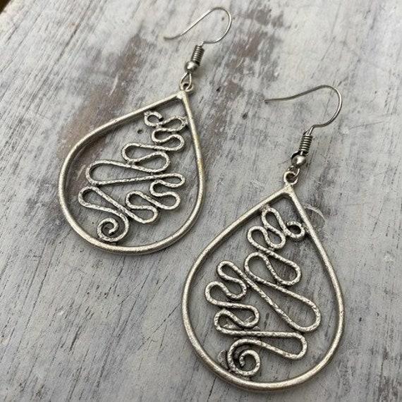5531 - Bohemian Earrings,Bohemian Jewelry, Earring Svg,