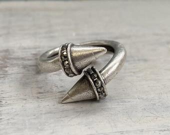 4336 - Bohemian rings, adjustable ring, brass ring