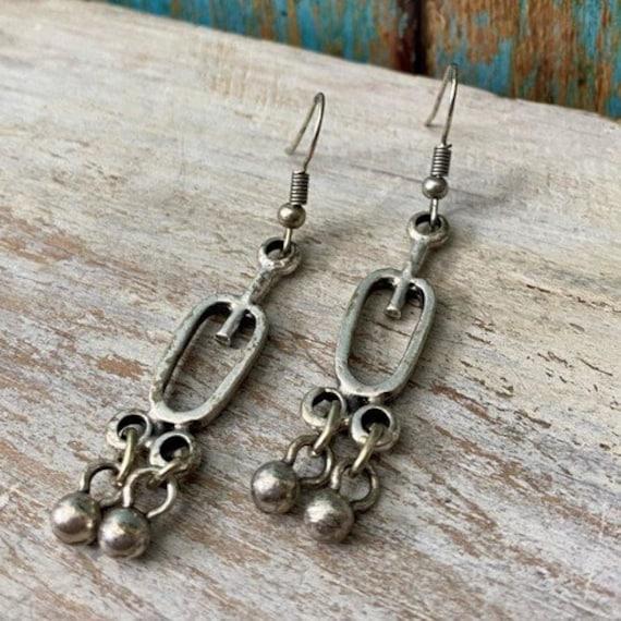 5312 - Bohemian jewelry boho earrings ethnic earrings dangle earrings statement earrings gypsy earrings tribal jewelry tribal earrings