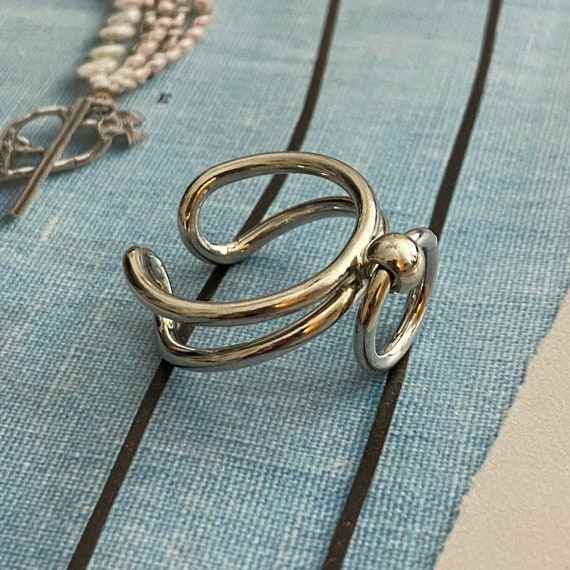 4013 - Boho Ring, Bohemian Ring , Ethnic, Tribal,hippie Style