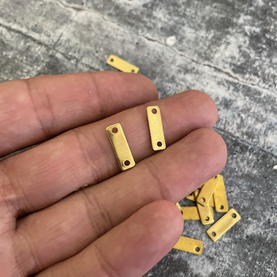 30 PCS  - 12 GR - Raw Brass Earring Findings,One set, endless possibilities. Wholesale earring findings for jewelry making parts.-3112