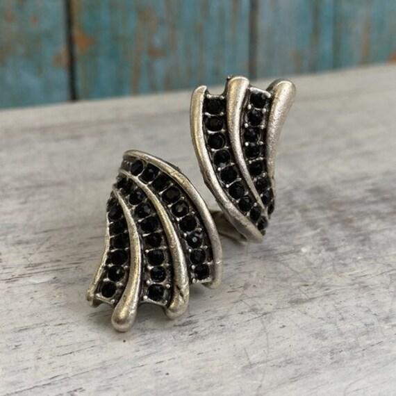 4366 - Boho Ring, Bohemian Ring , Ethnic, Tribal, Hippie Style