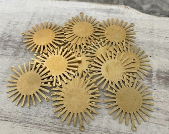 3008 - Approx. 15 PCS Raw Brass Earring Findings,One set, endless possibilities. Wholesale earring findings for jewelry making parts.