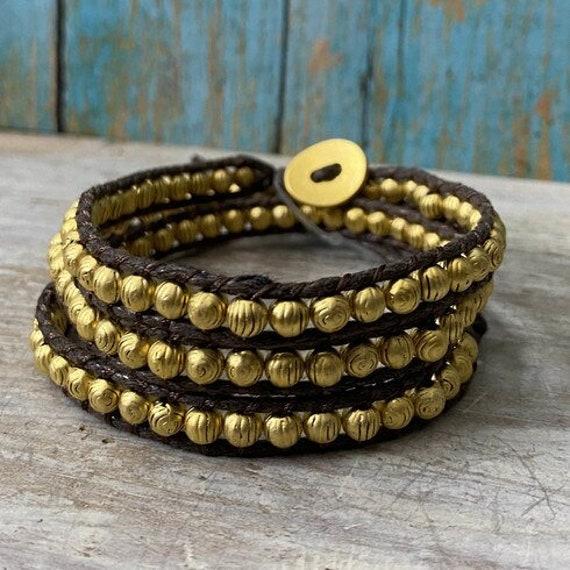 2064 - Wrap Bracelet Bohemian Jewelry Boho Bracelet Bracelets for Women Cuff Bracelet Mala Bracelet Healing Bracelet Seed Bead Bracelet