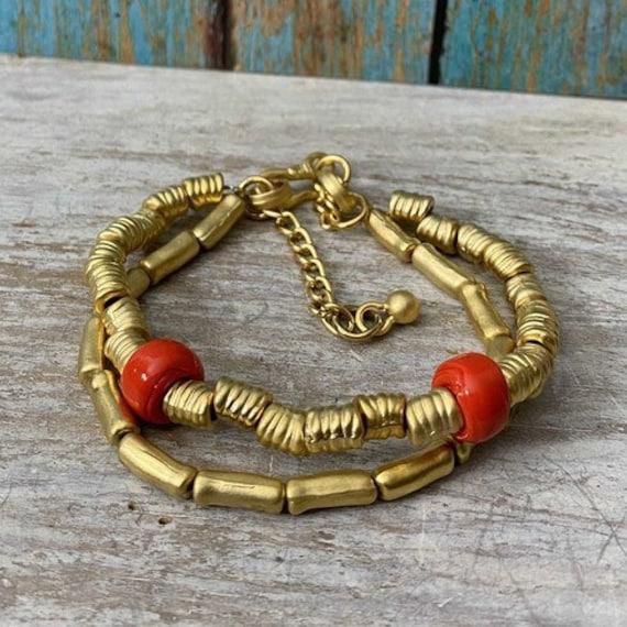 2013 - Antique Gold Plated  Bohemian Bracelet Findings