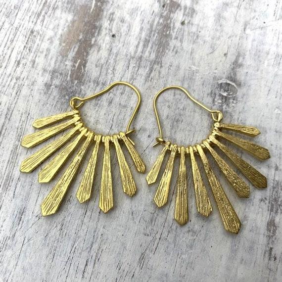 5654 - Bohemian, Boho Style, Gypsy, Hippie, Ethnic Earrings - Bohemian Earrings -Boho Earrings