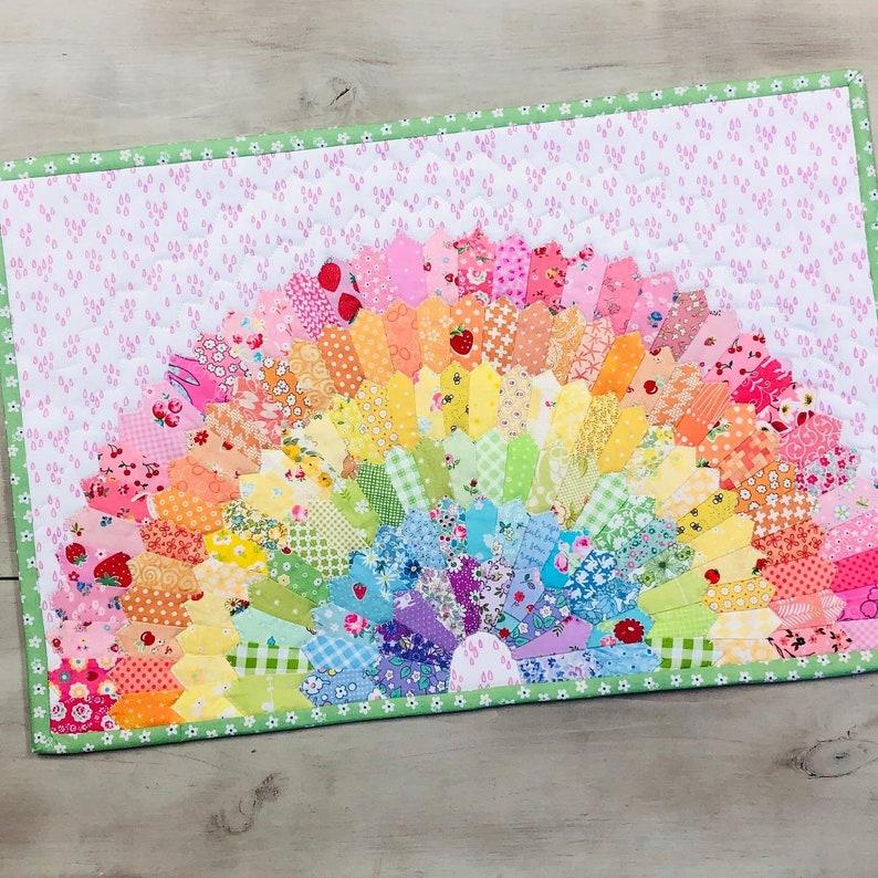 Mini Dresden Rainbow Kit with Pattern image 0