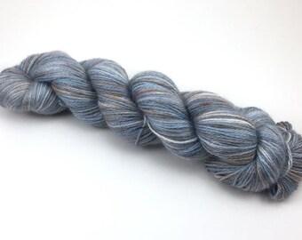 Baby Alpaca and Tencel fingering weight yarn - Winter Day - 100g