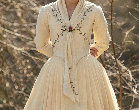 PLUS SIZE Bree season 5 Outlander Wedding Bridal Dress Replica Cosplay Costume Rococo