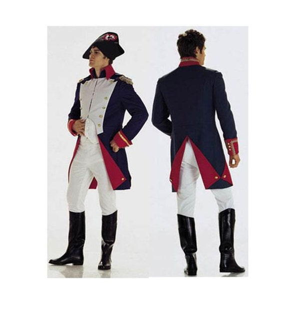 Napoleon, Brienne-le-Chateau Military School, 18th Century TAILCOAT and Vest. (Made in the USA - not China!)   Lay Away Available