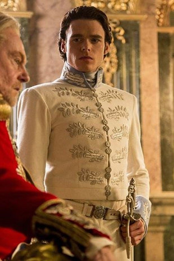 Men's Cinderella Cosplay, Prince Charming, Richard Madden, Regency TAILCOAT, Groom's Attire. (Made in the USA - not China!)