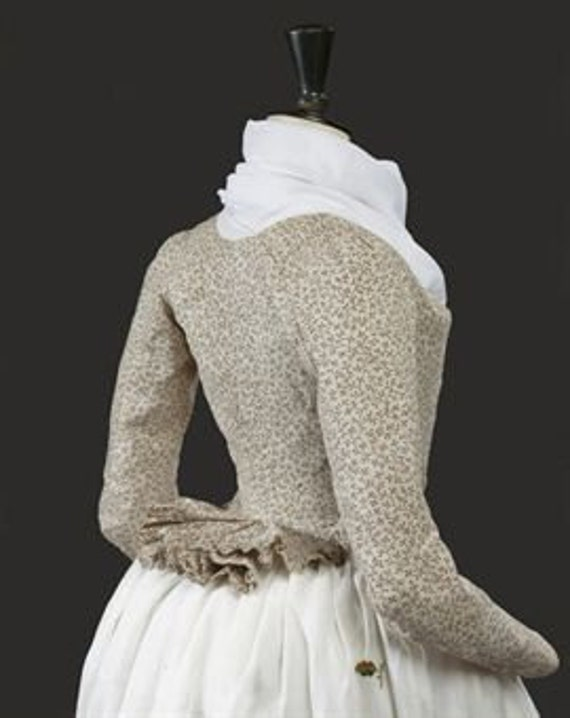 Women's 18th Century, Caraco a la Pierrot Jacket - Custom, Made To Order