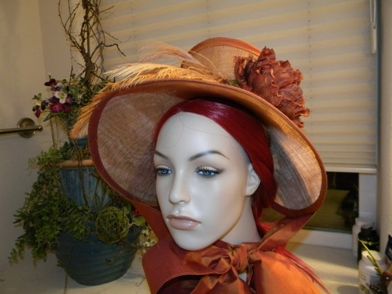 Napoleonic Era Bonnet, Early 19th Century - MADE TO ORDER