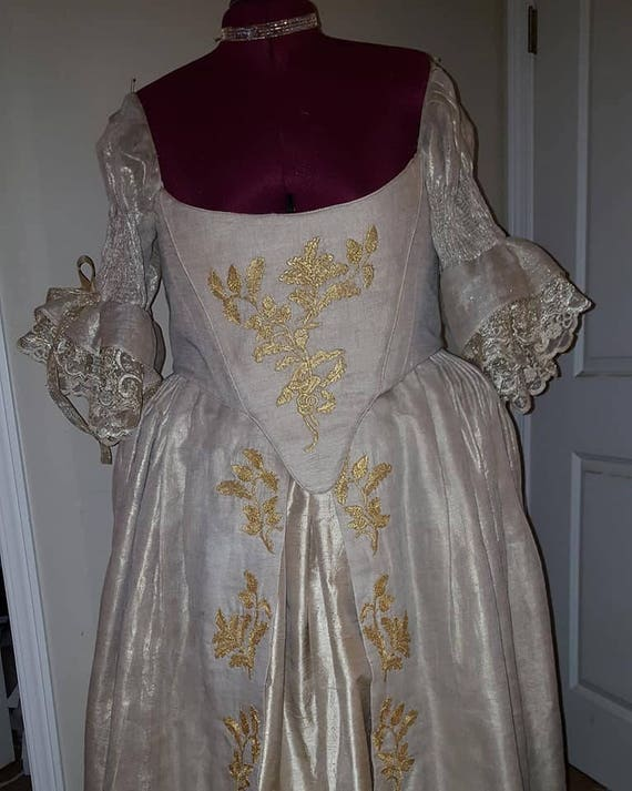 18th Century Scottish Wedding Gown MADE TO ORDER | Etsy