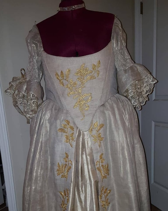 "Women's 18th Century ""Scottish"" Outlander Wedding Gown (MADE TO ORDER) - Labor Fees"