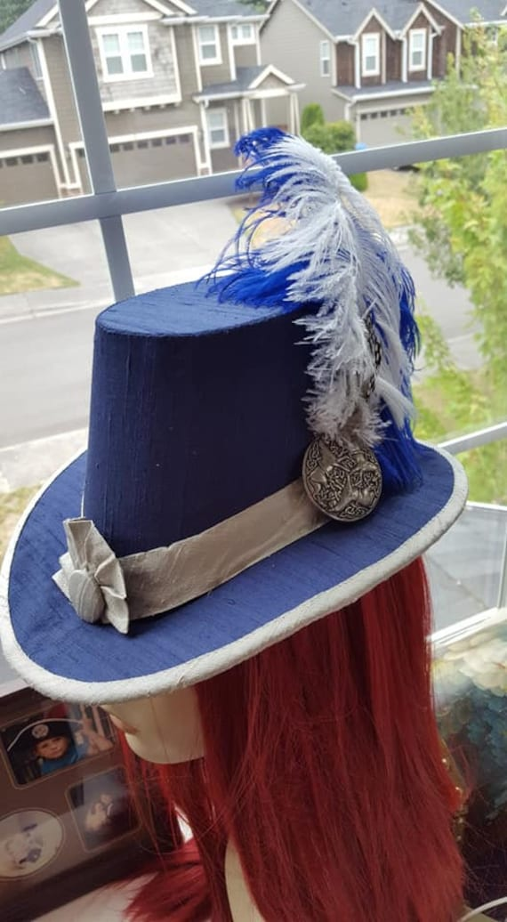Renaissance, Elizabethan, Slanted Riding Hat, without Feather (MADE TO ORDER)