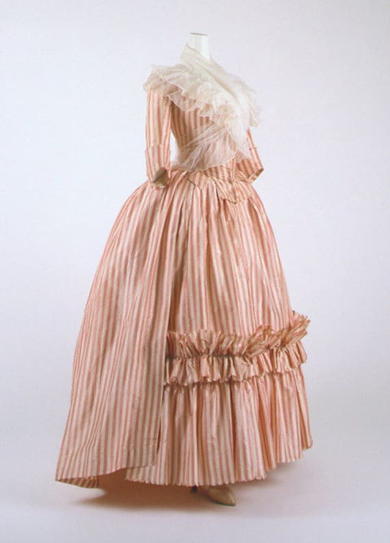 18th Century Italian, Colonial Costume, Wedding Gown - AUTHENTICALLY STYLED (Made to order)