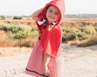 Little Red Riding Hood Inspired Dress