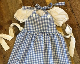 Dorothy Dress  from the Wizard of Oz.
