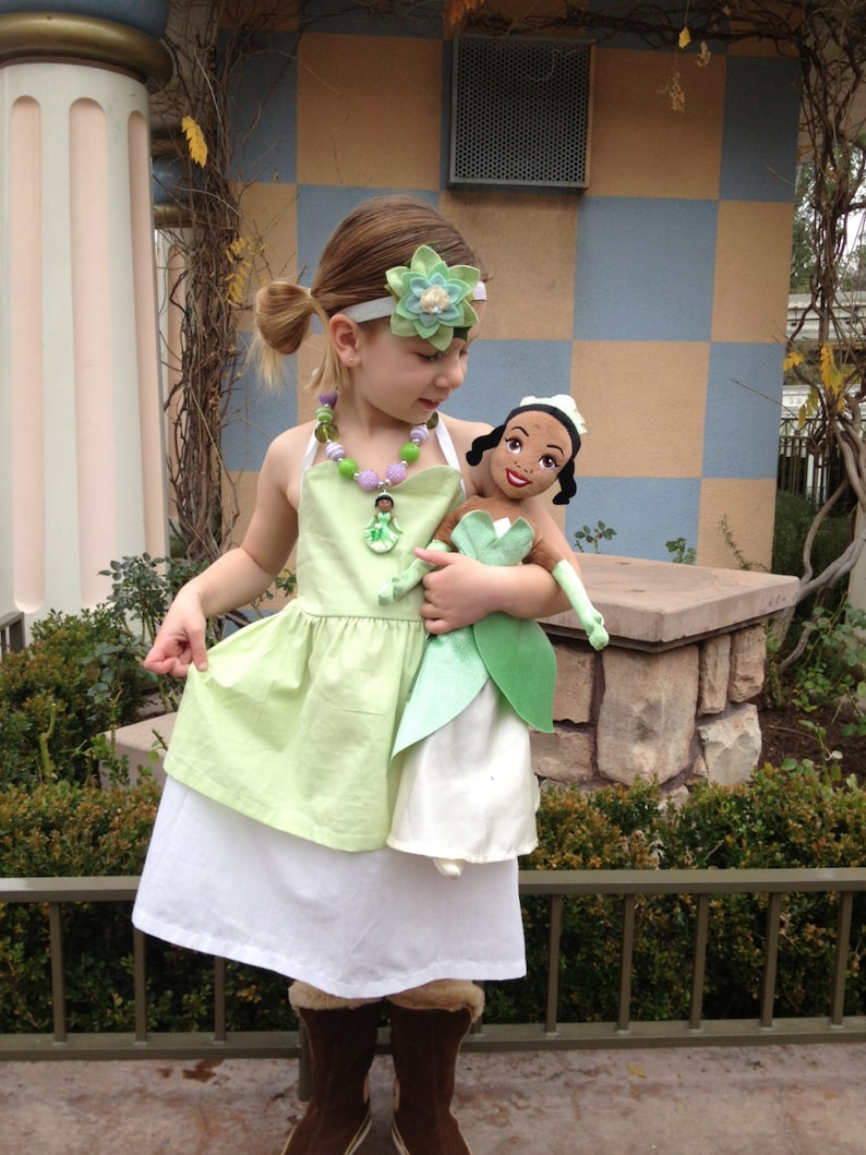TIANA inspired dress from Princess and the Frog image 0