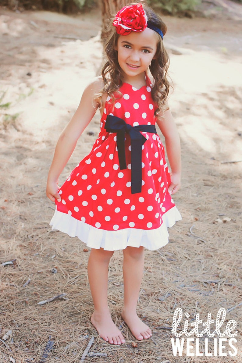 MINNIE MOUSE Inspired Dress image 0